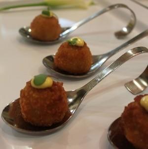 Vegetable Croquettes With Saffron Aioli