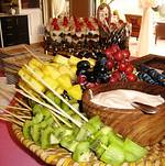 Fruit and Dip Display