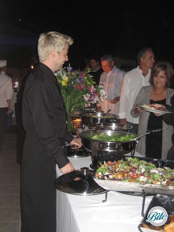 Venice Beach Wedding Buffet