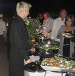 Venice Beach Wedding Buffet