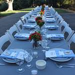 Scenic Malibu Outdoor Wedding Dinner
