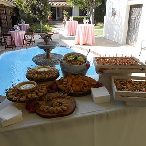 Wedding Appetizer Display @ Orcutt Ranch