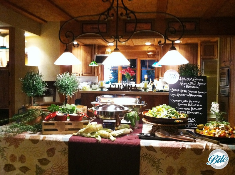 Mediterranean buffet  display