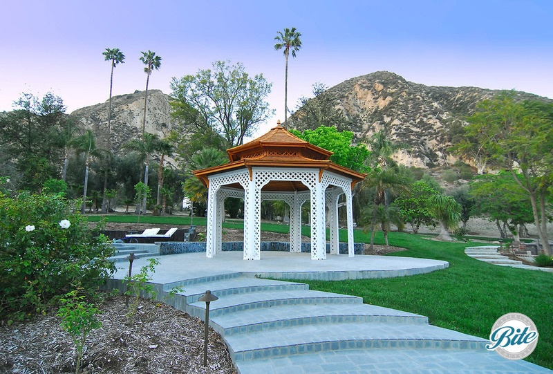 Newhall Mansion Gazebo and Hills