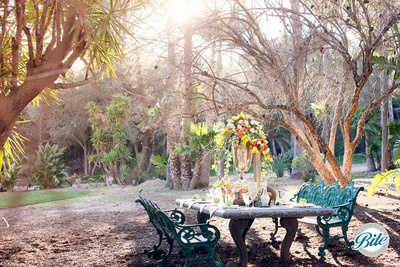 Garden Table @ Newhall Mansion