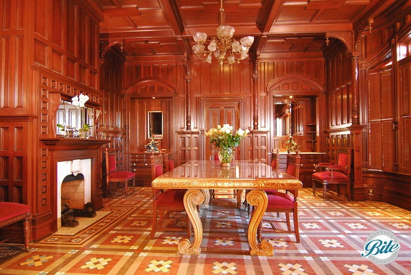 Dining room @ Newhall Mansion