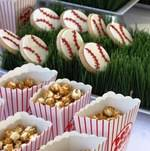 Baseball themed VIP event