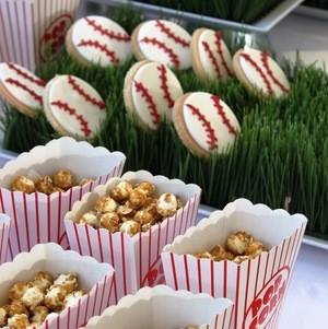 Baseball themed VIP event