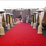 Red Carpet outside Hangar 8
