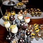 Cheesecake Pops with decor