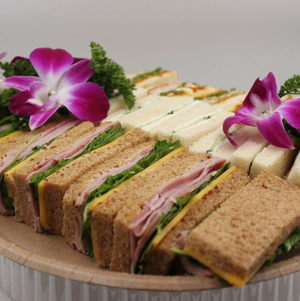 Tea Sandwiches from our a la carte menu