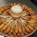 Corn Dogs from Platters Menu