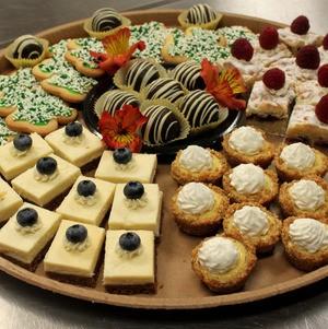 Dessert Assortment from A La Carte Menu