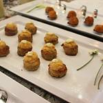 Tray Passed Creole Crab Cakes