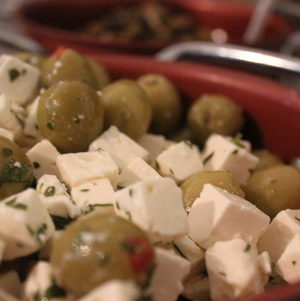 Olives and Feta Salad
