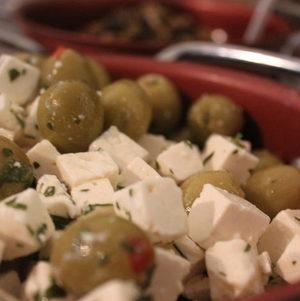 Olives and Feta Salad