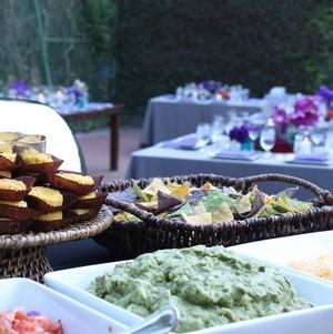 Mexican Buffet Station @ Wedding