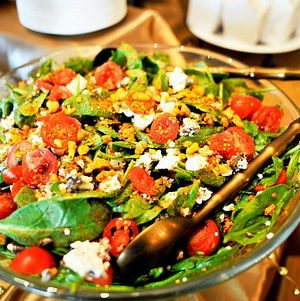 Andouille and Spinach Salad