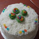 Cake with Easter Eggs @ Easter