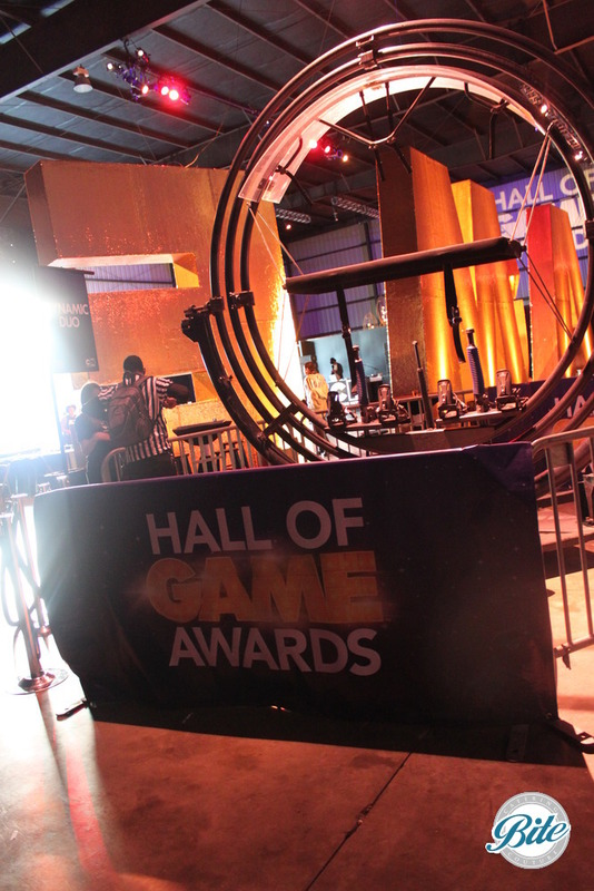 Setting @ Hall of Games Awards