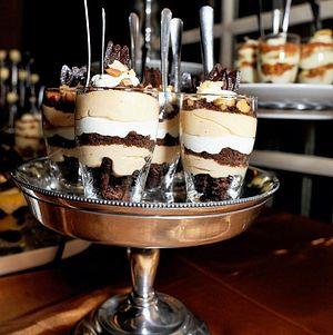 Dessert Shots on Display