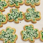 St Patricks - Shamrock Cookies