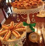 Irish Shortbreads and Caramelized Apple Tarts