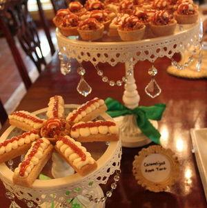 Irish Shortbreads and Caramelized Apple Tarts