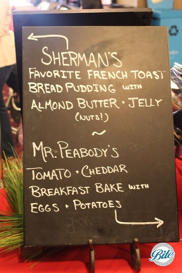 Film Screening Menu: Mr Sherman and Peabody