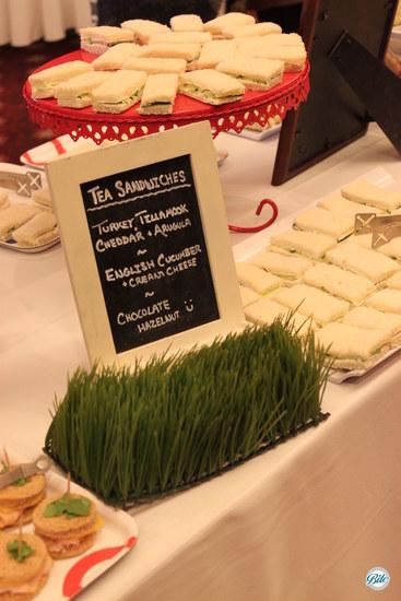 Breakfast Tea Sandwiches
