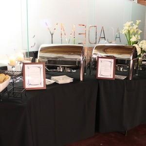 Modern Buffet setup
