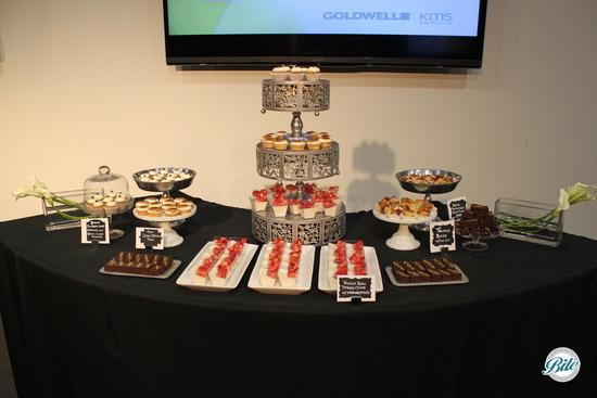 Spring Dessert Display