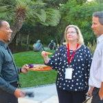 Appetizers Passed by Friendly Staff