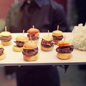 Mini Shiraz Marinated Lamb Burgers