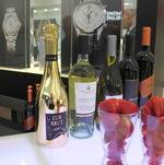 Strawberry and Champagne on Bar @ Grand Opening
