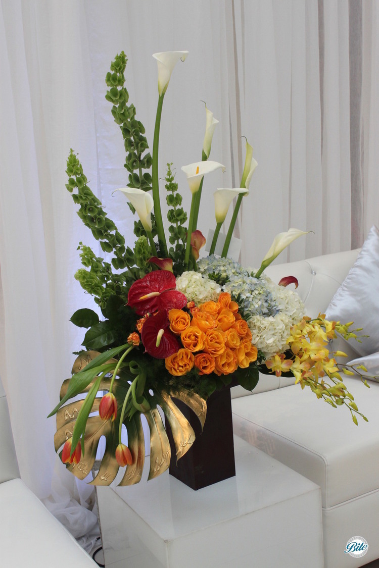 Modern Flower Arrangement @ Bhindi Grand Opening