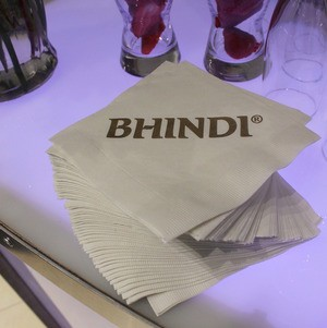 Logo Napkins @ Bhindi Grand Opening