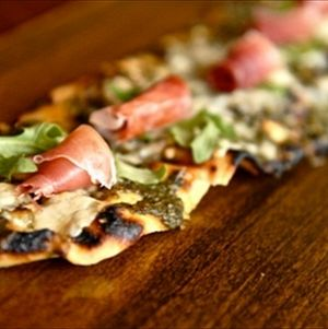 Prosciutto and Arugula Flatbread