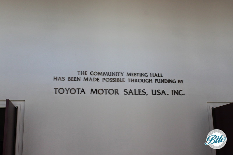 Torrance Cultural Arts Center Toyota Meeting Hall Sign