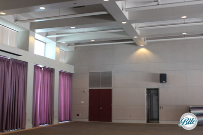 Torrance Cultural Arts Center Toyota Meeting Hall Curtain View