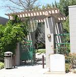 Torrance Cultural Arts Center Pine Wind Japanese Garden Entrance