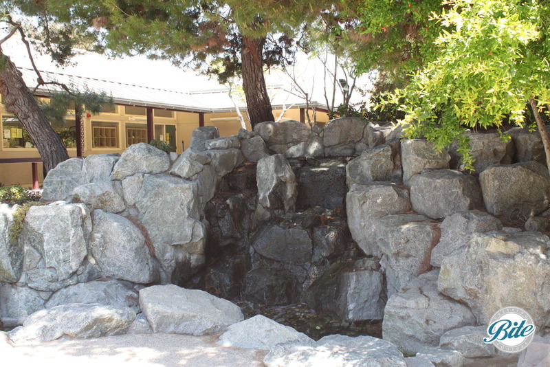 Torrance Cultural Arts Center Pine Wind Japanese Garden Waterfall