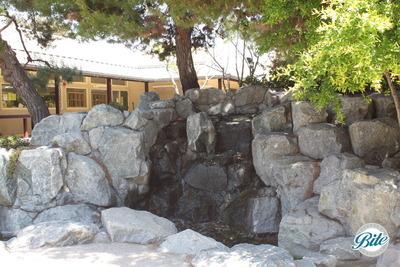 Torrance Cultural Arts Center Pine Wind Japanese Garden Waterfall