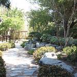 Torrance Cultural Arts Center Pine Wind Japanese Garden Stone Path