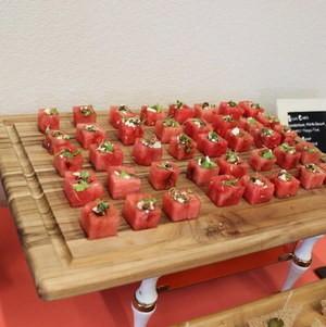 Watermelon Cubes at Torrance Cultural Arts Center