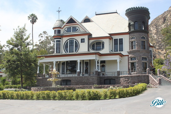 Newhall Mansion Front View