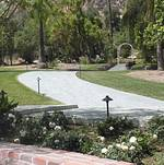 Newhall Mansion Backyard Path