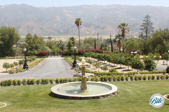 Newhall Mansion Garden Fountain