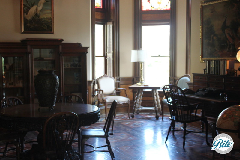 Newhall Mansion Living Room Side