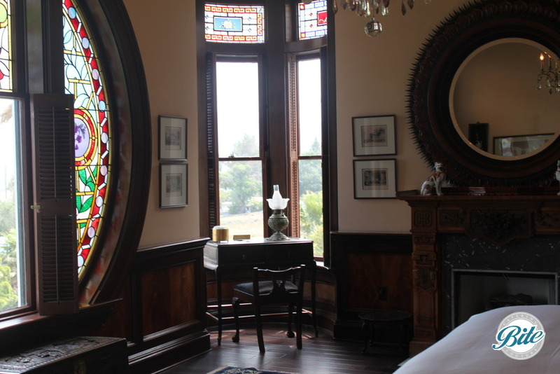 Newhall Mansion Oriental Bedroom